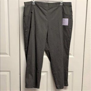 Just My Size Comfort Pants Size 3XP New Stripped
